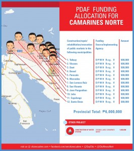 pdaf funding allocation for camarines norte